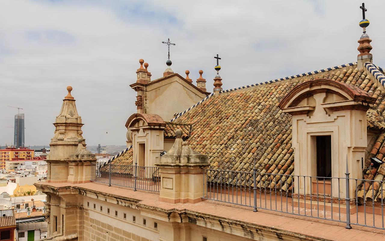 Dos arquitecturas. Sevilla, 2013 ©Flivillegas