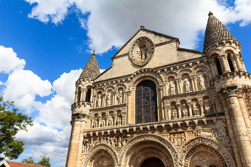 Iglesia de Notre-Dame la Grande de Poitiers