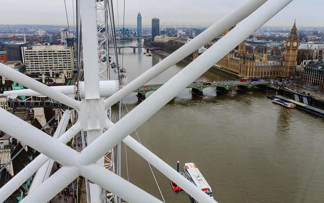 Londres desde su noria