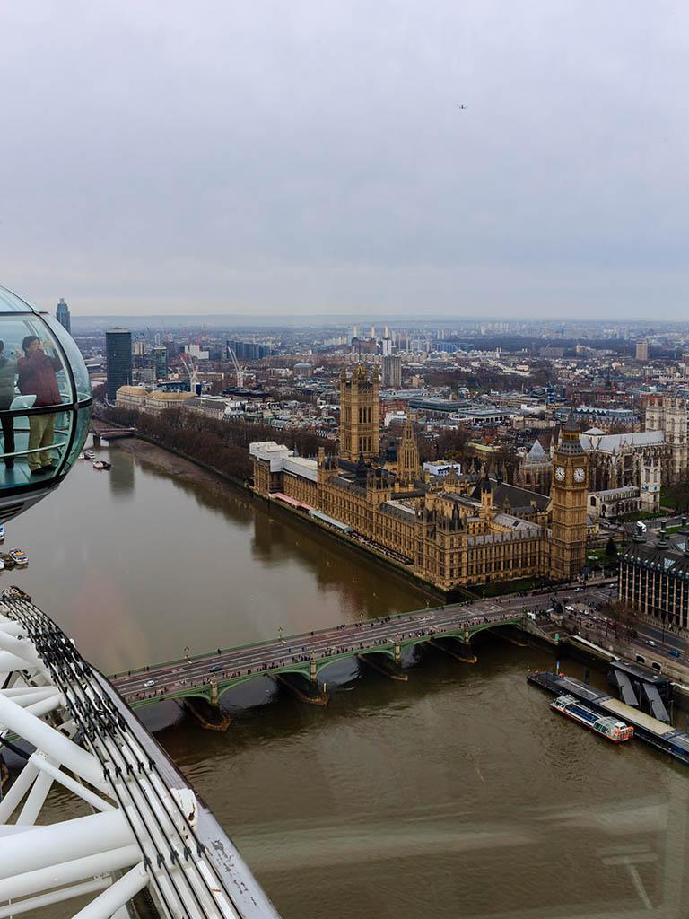 Cabina del London Eye