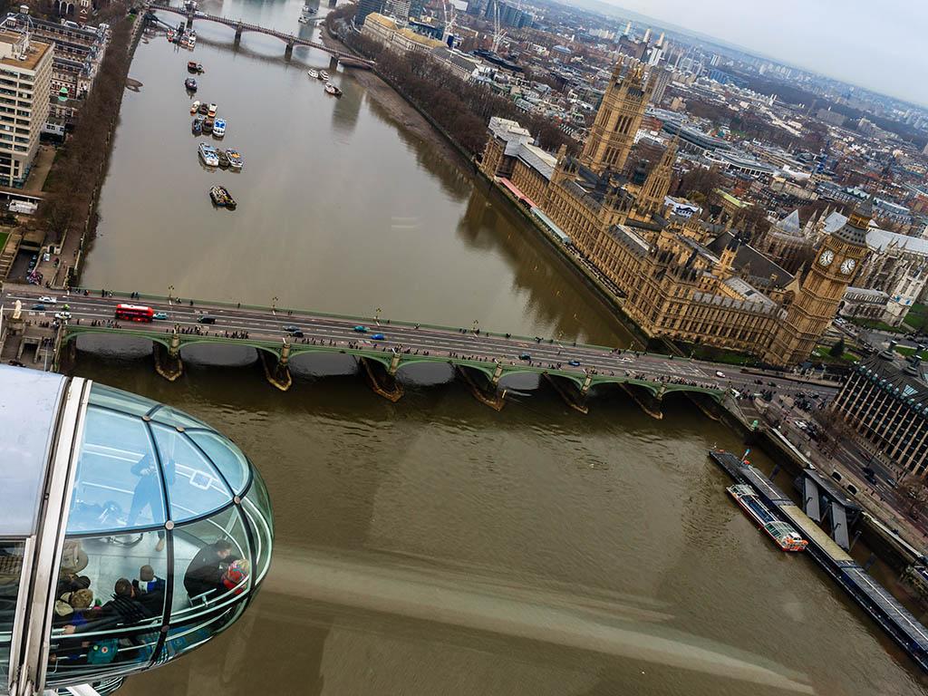 Londres desde el London Eye