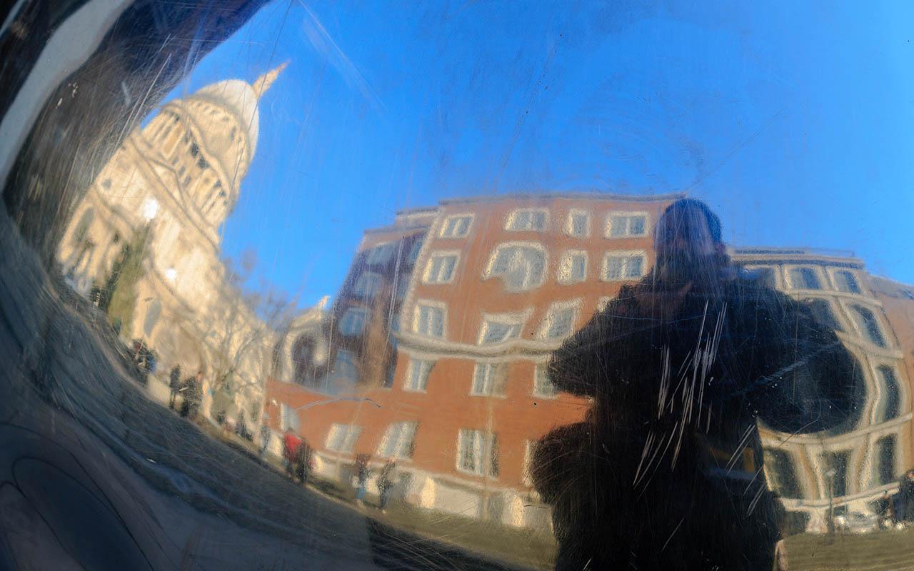 Reflejos de la Catedral de St. Paul