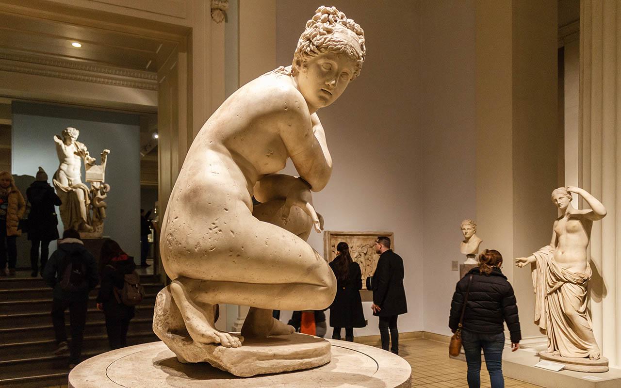 Escultura en el British Museum