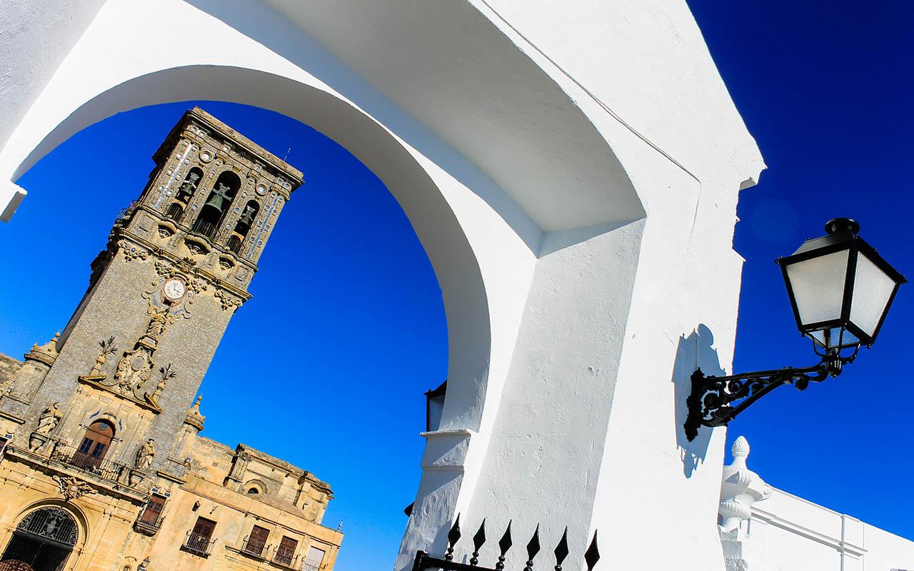Radiante pueblo blanco. Arcos de la Frontera, 2015 ©Flivillegas