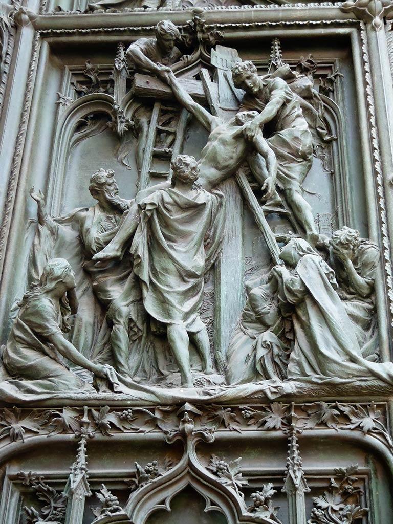 La Pasión en bronce III. Milán ©Flivillegas