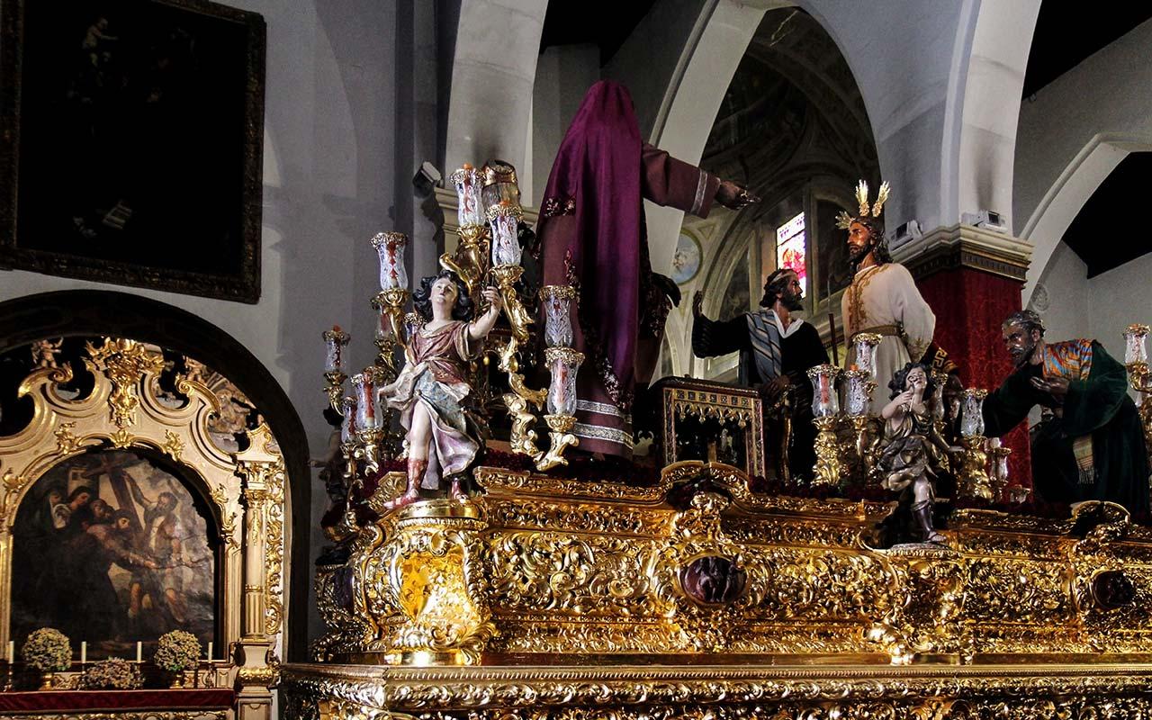 Paso de Cristo de Nuestro Padre Jesús ante Anás del Dulce Nombre en San Lorenzo