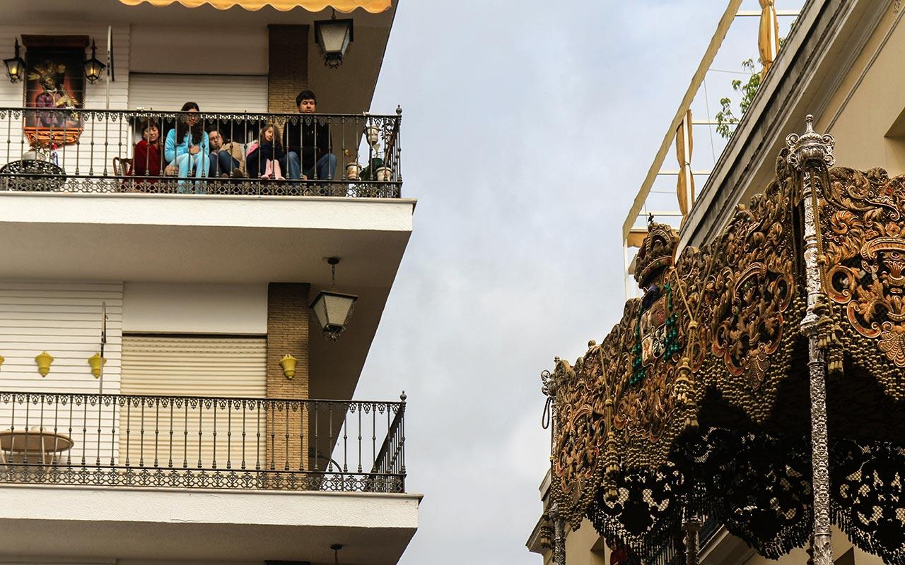 Palio de la Macarena en San Juan de la Palma