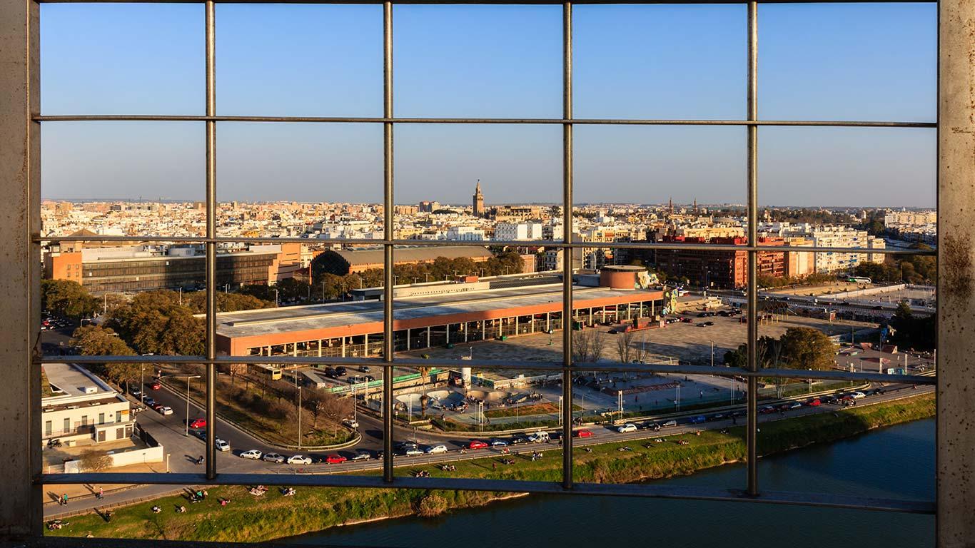 La ciudad reticulada. Sevilla, 2014 ©Flivillegas