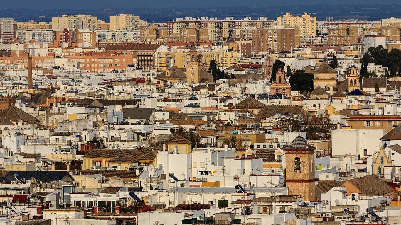 Panorámica de Sevilla desde la Torre Schindler