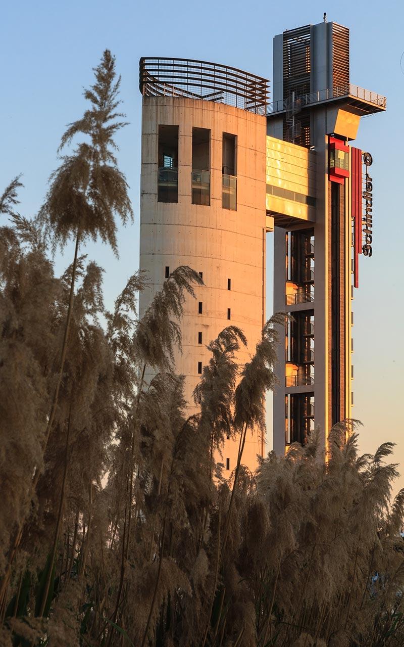 Torre Schindler en Cartuja