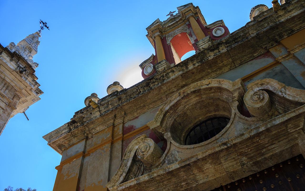Fábrica de Tabacos y Rectorado de la Universidad de Sevilla