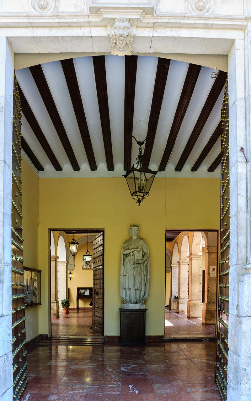 El atrio del Saber. Sevilla, 2013 ©Flivillegas