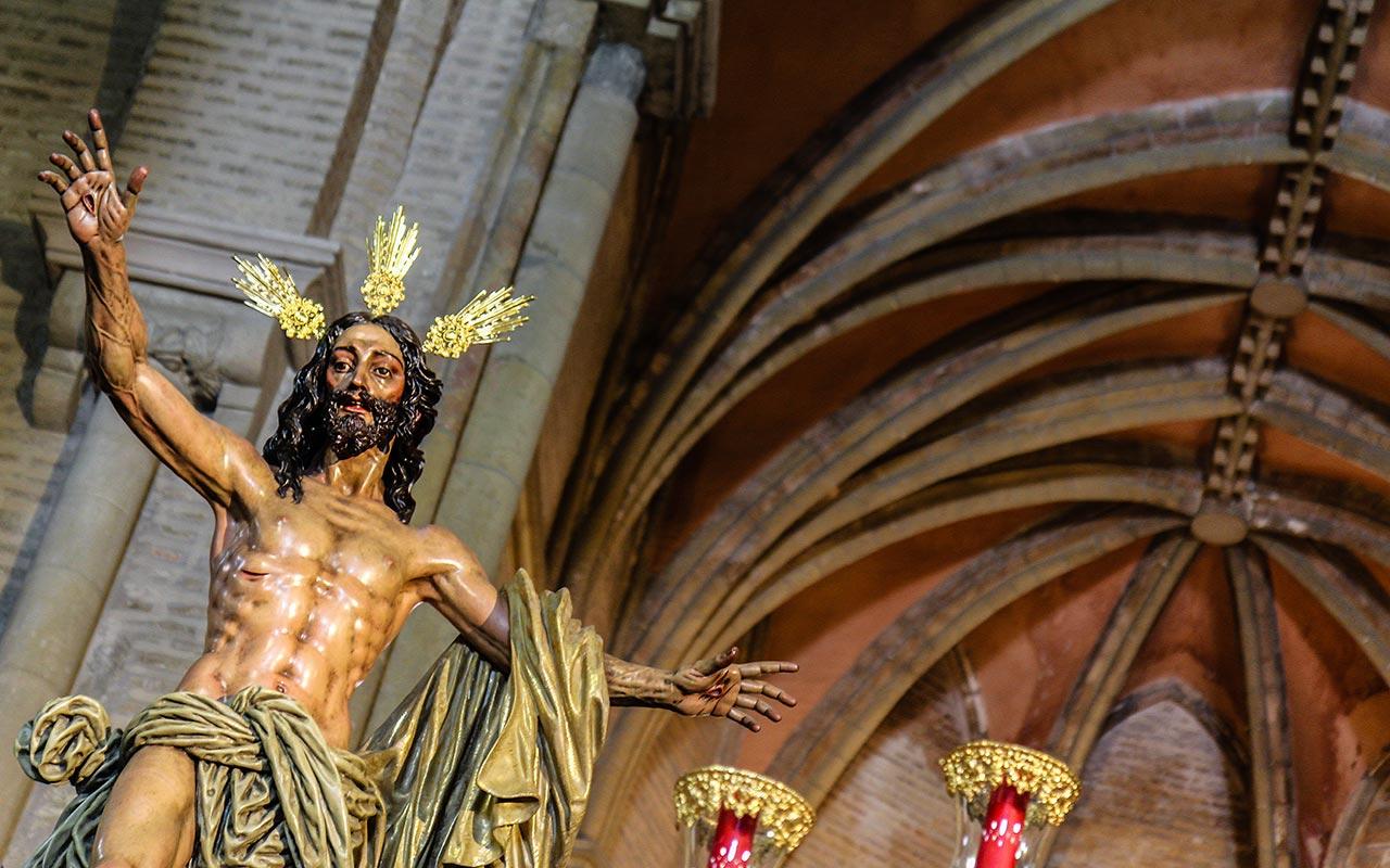 Cristo del Resucitado en Santa Marina