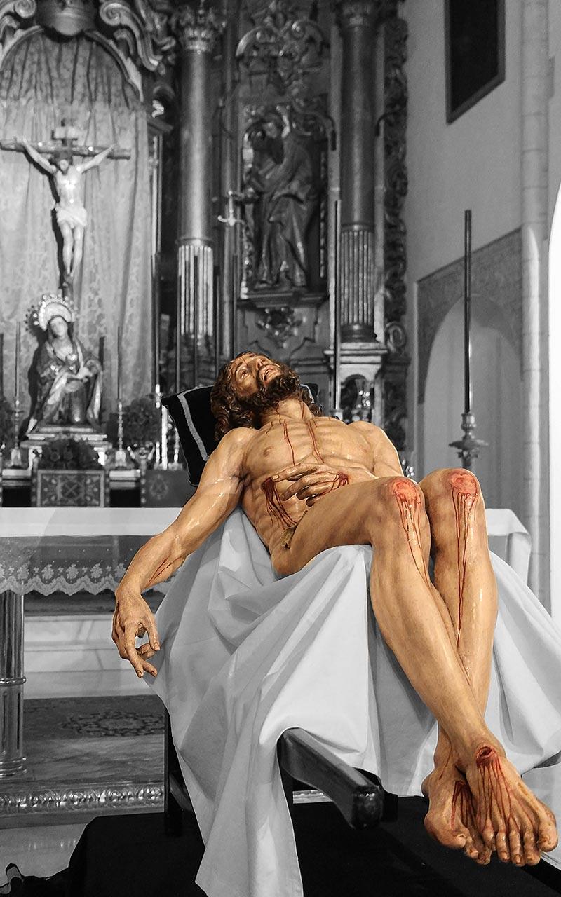 Cristo de la Caridad de Santa Marta en Cuaresma