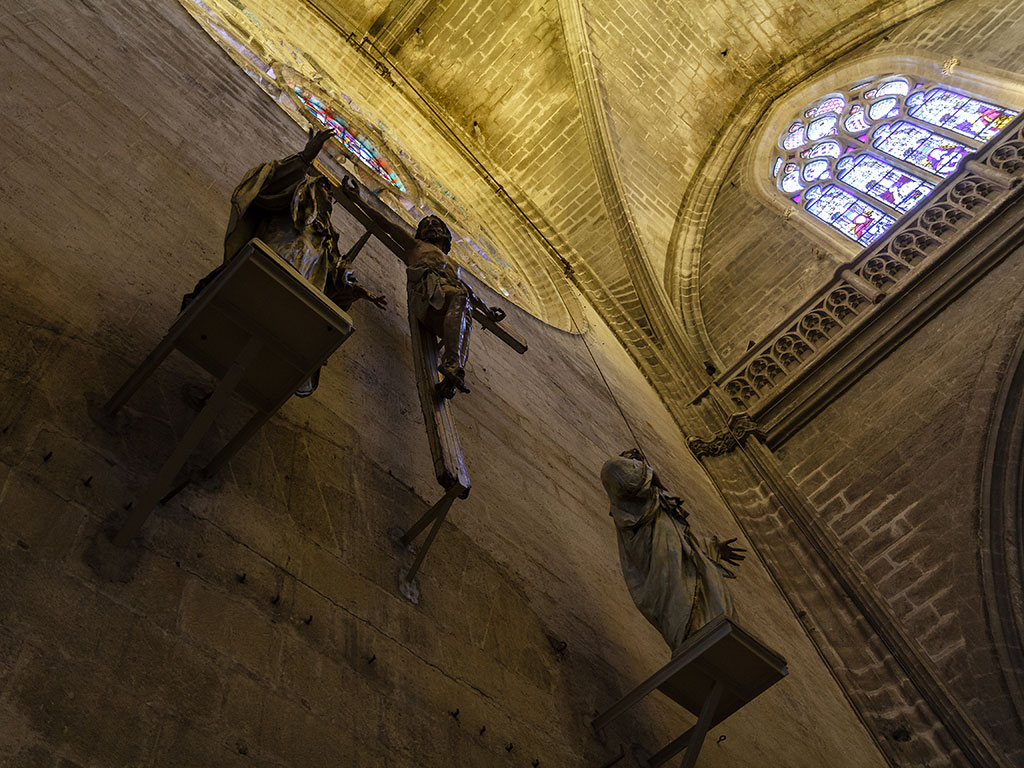 Crucificado del interior