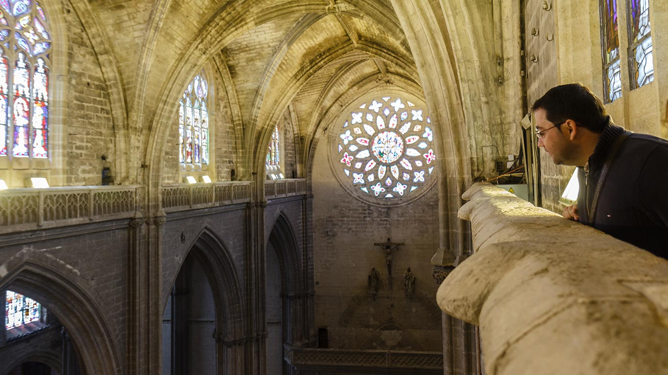 Patrimonio abierto. Catedral de Sevilla, 2012 ©Flivillegas