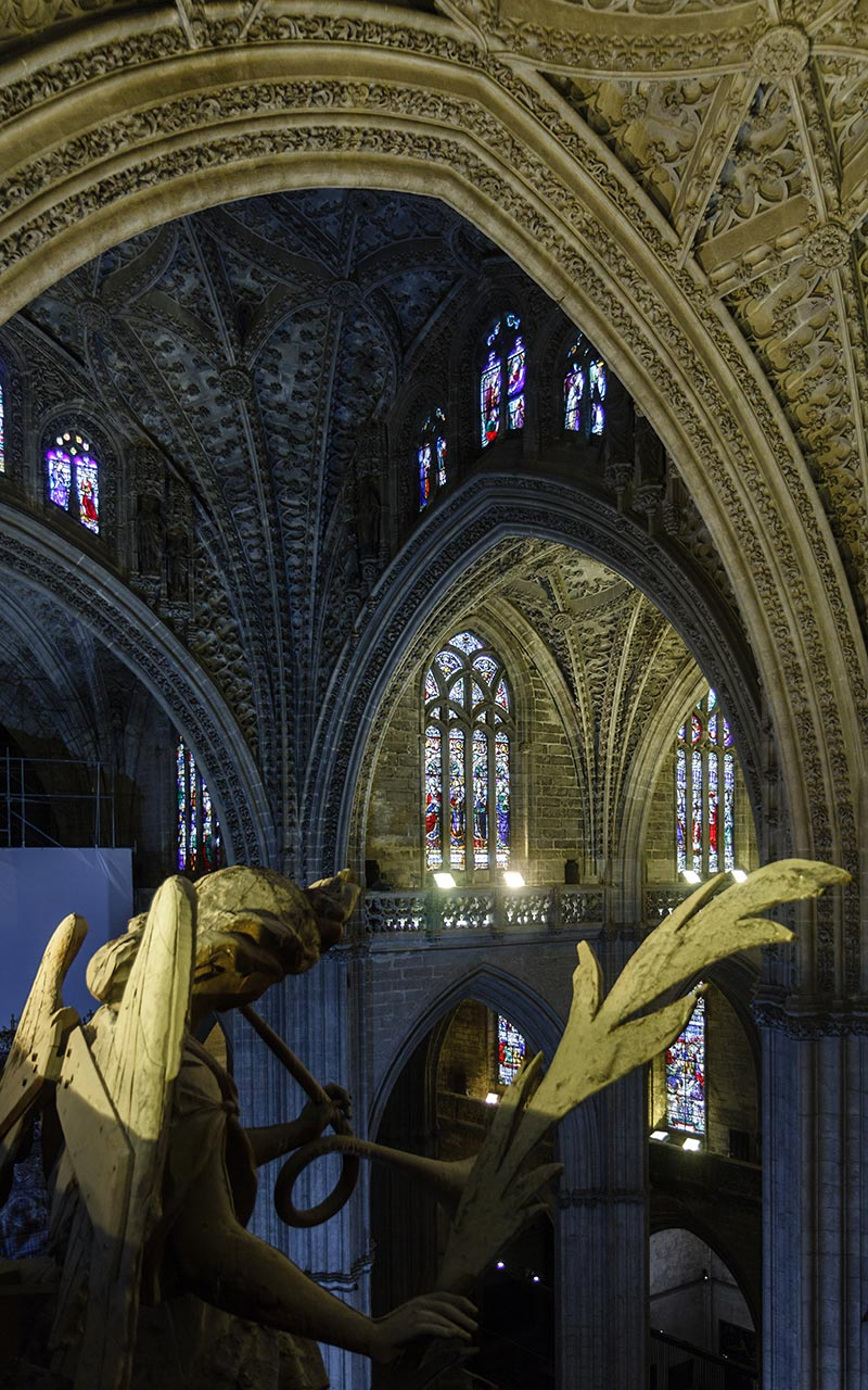 Música flamígera. Catedral de Sevilla, 2012 ©Flivillegas