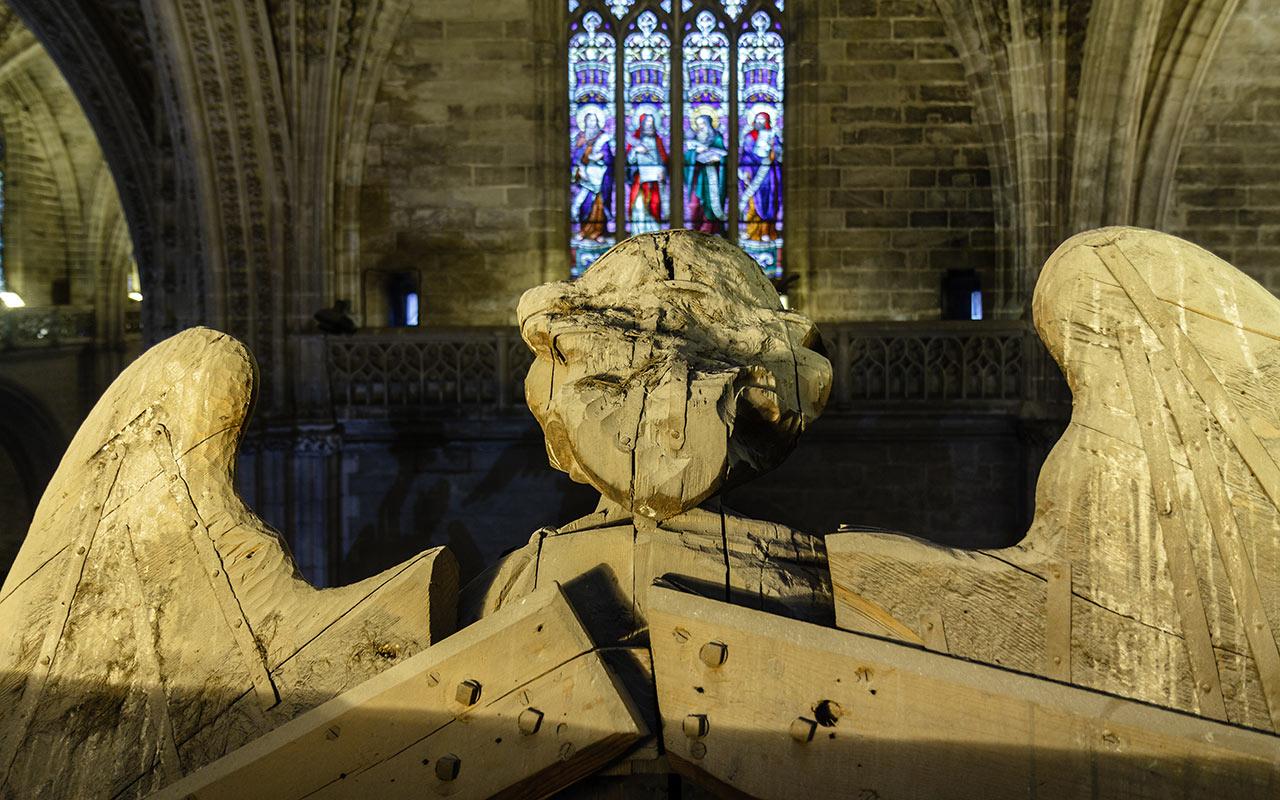Vidriera de la Catedral