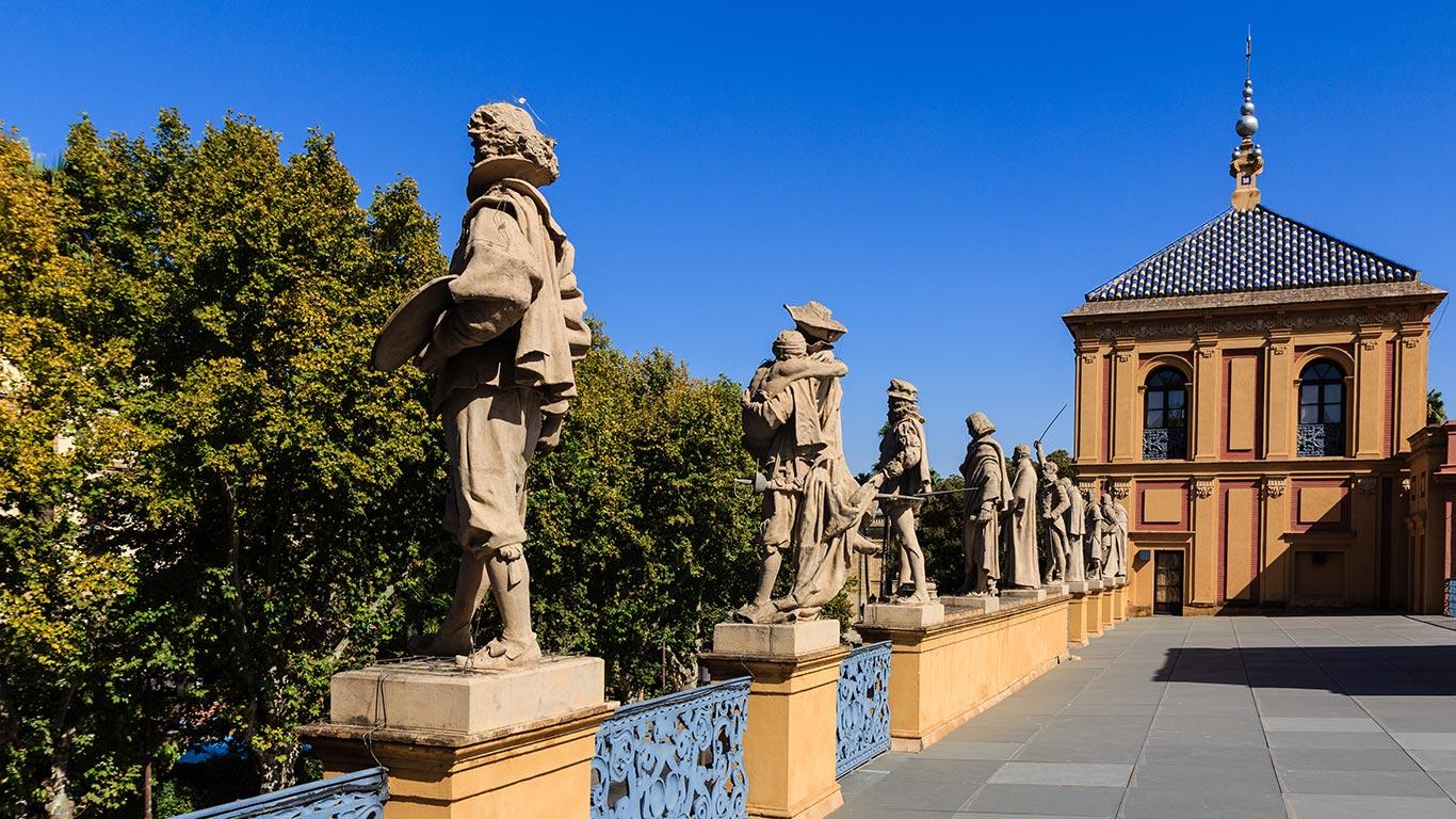 Galería de Ilustres del palacio