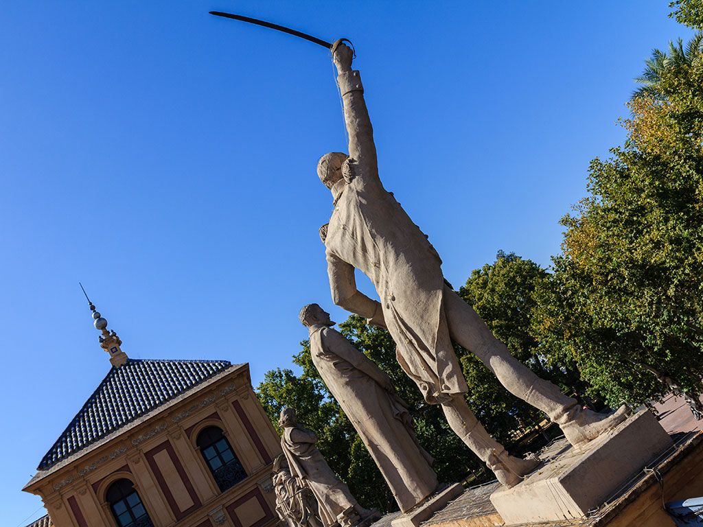 La advertencia de Daóiz. Sevilla, 2014 ©Flivillegas