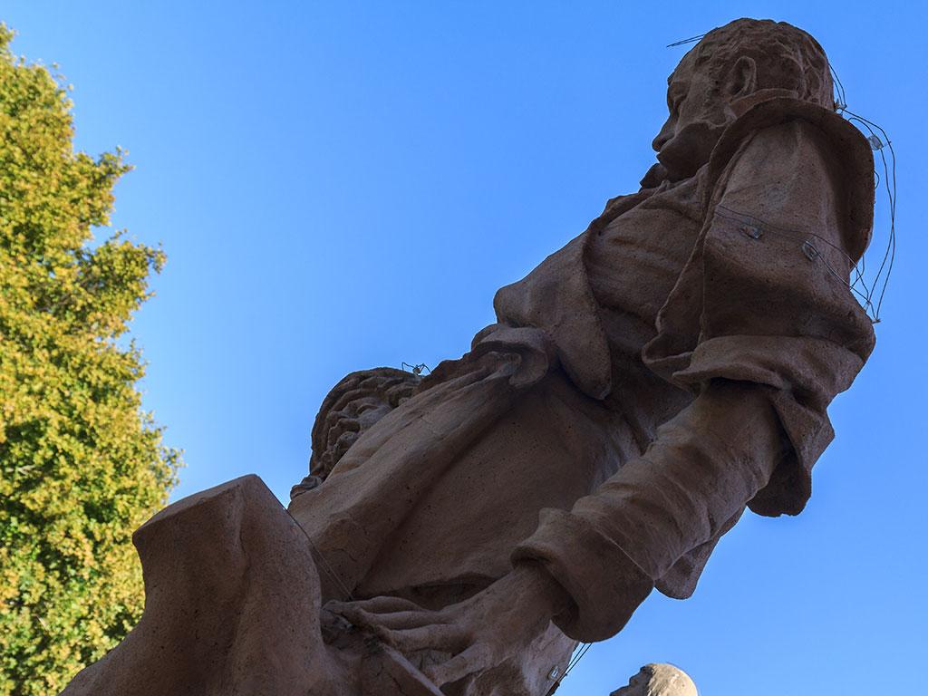 Gran Poder con su imaginero. Sevilla, 2014 ©Flivillegas
