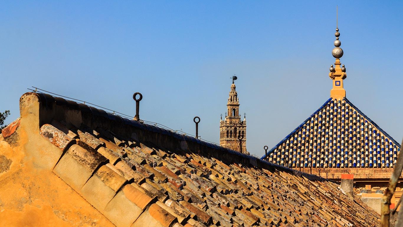 Vista desde las cubiertas del palacio