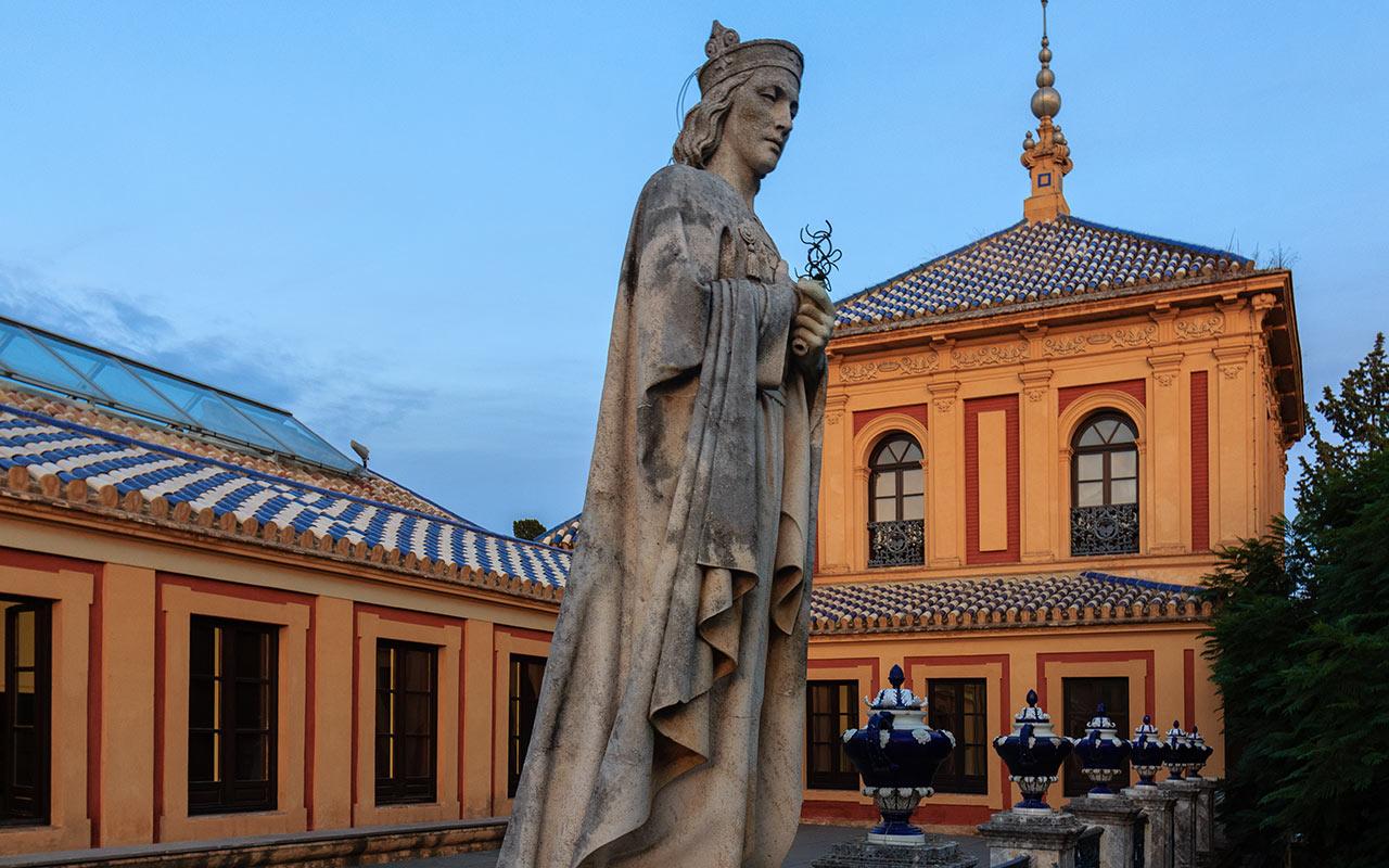 Escultura del Palacio