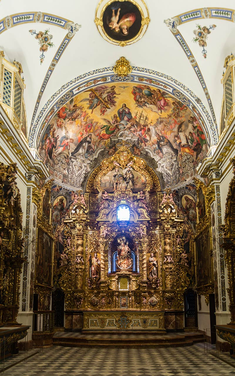 Capilla de San Telmo. Sevilla, 2014 ©Flivillegas