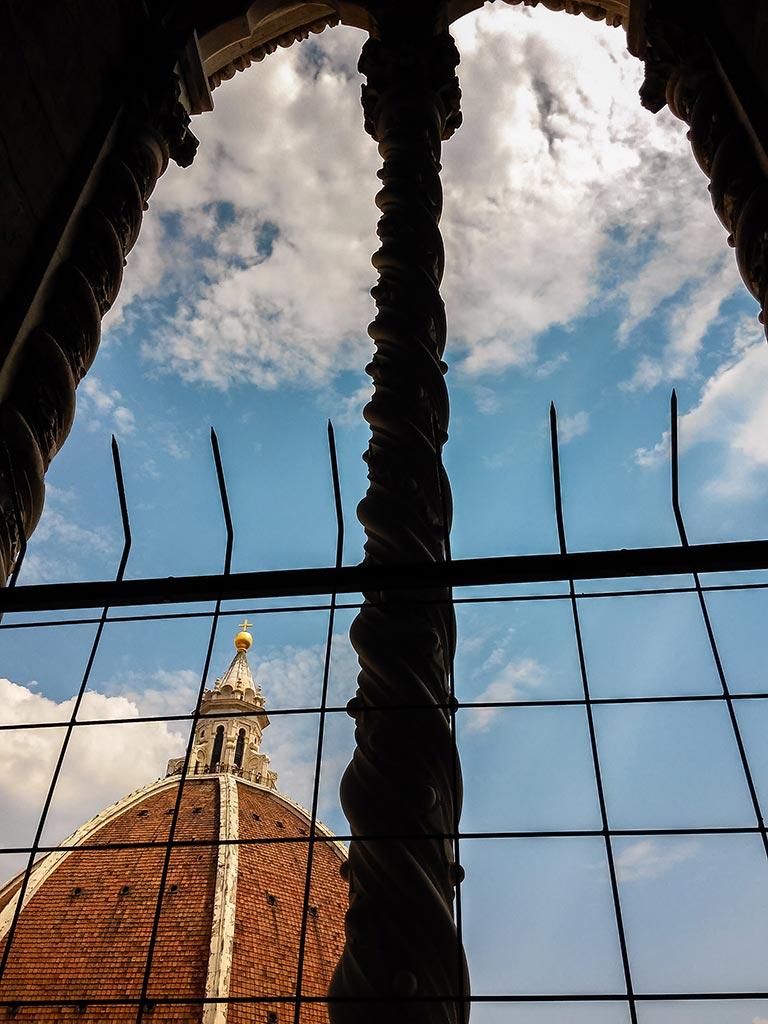 Duomo en las alturas. Florencia, 2015. Foto de móvil ©Flivillegas