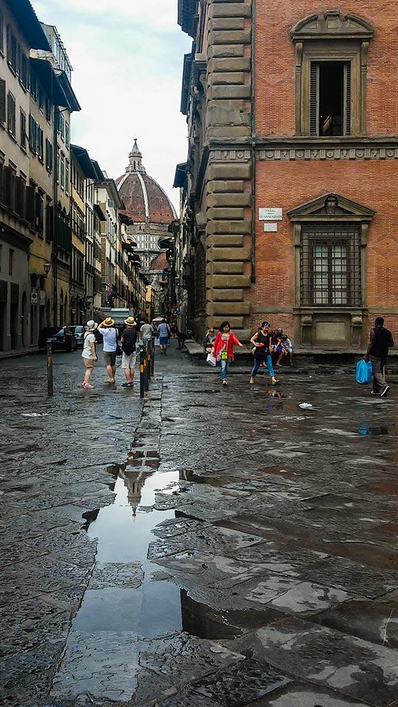 La Cúpula. Florencia, 2015. Foto de móvil ©Flivillegas