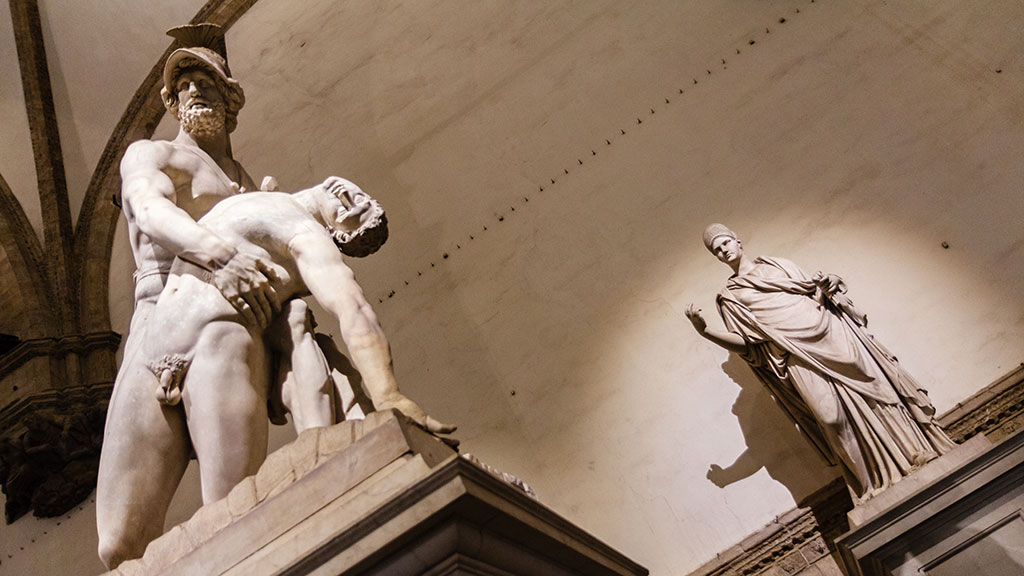 Claroscuros de tragedia II. Florencia, 2015 ©Flivillegas