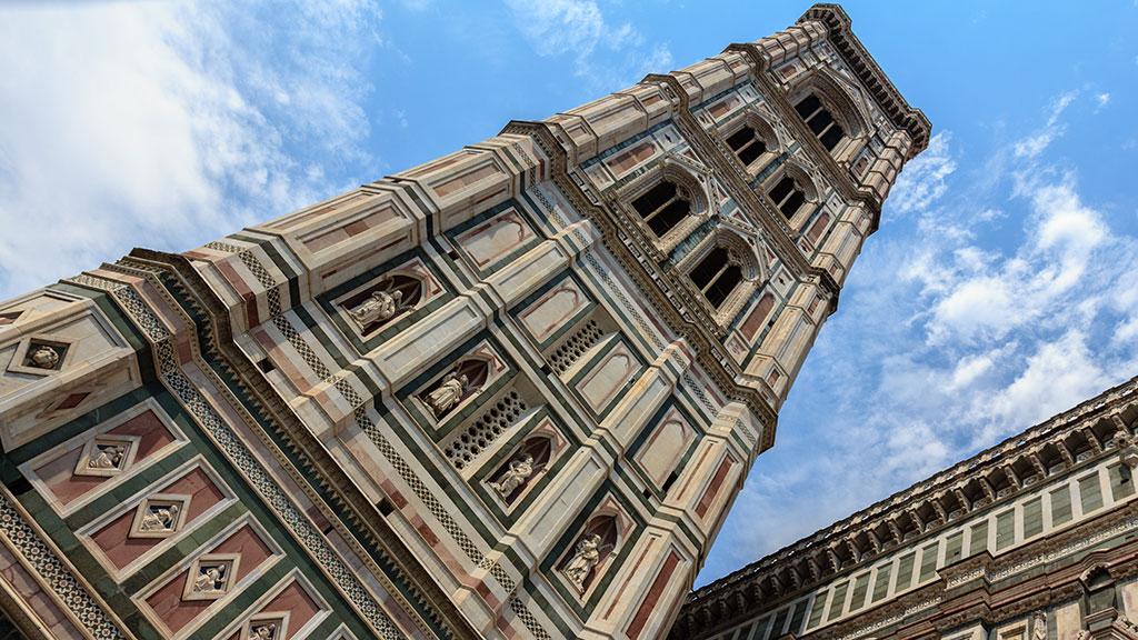 Campanile al cielo. Florencia, 2015 ©Flivillegas