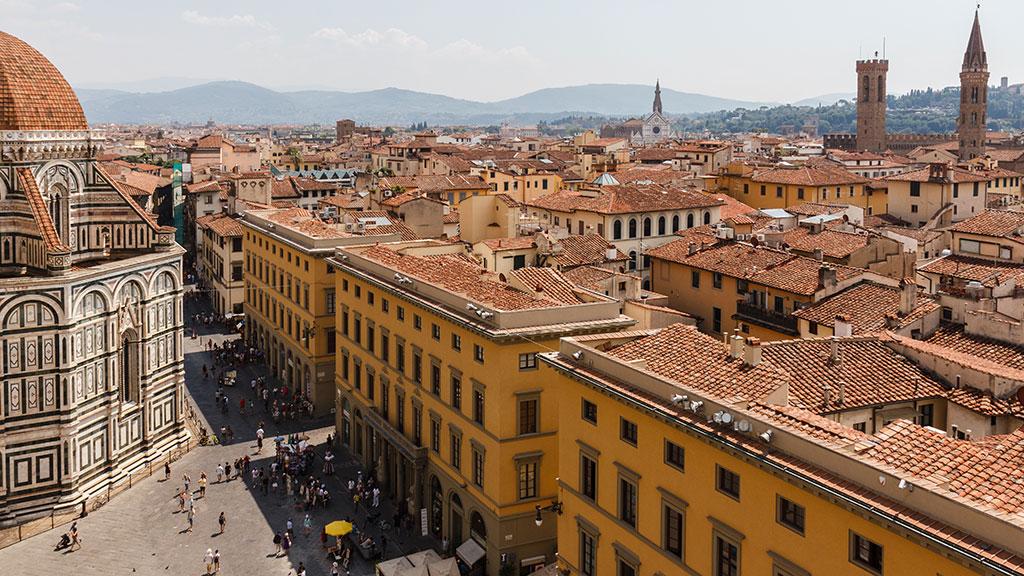 Silueta monumental. Florencia, 2015 ©Flivillegas