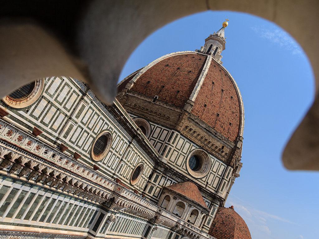 Duomo enmarcado. Florencia, 2015 ©Flivillegas
