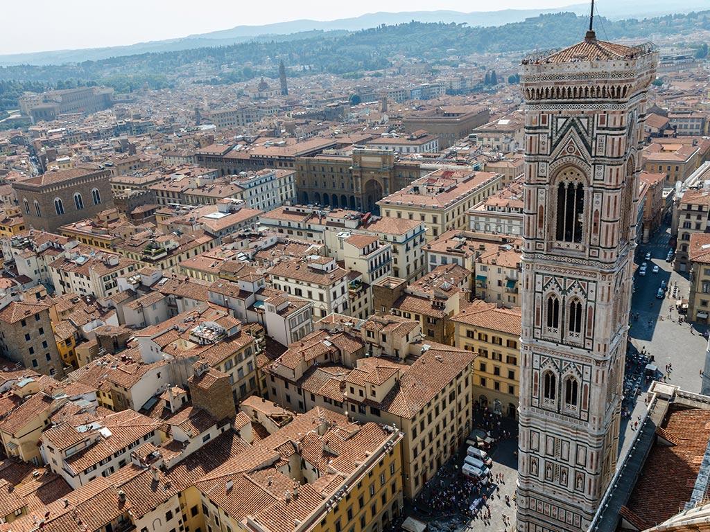 El vigía florentino. Florencia, 2015 ©Flivillegas