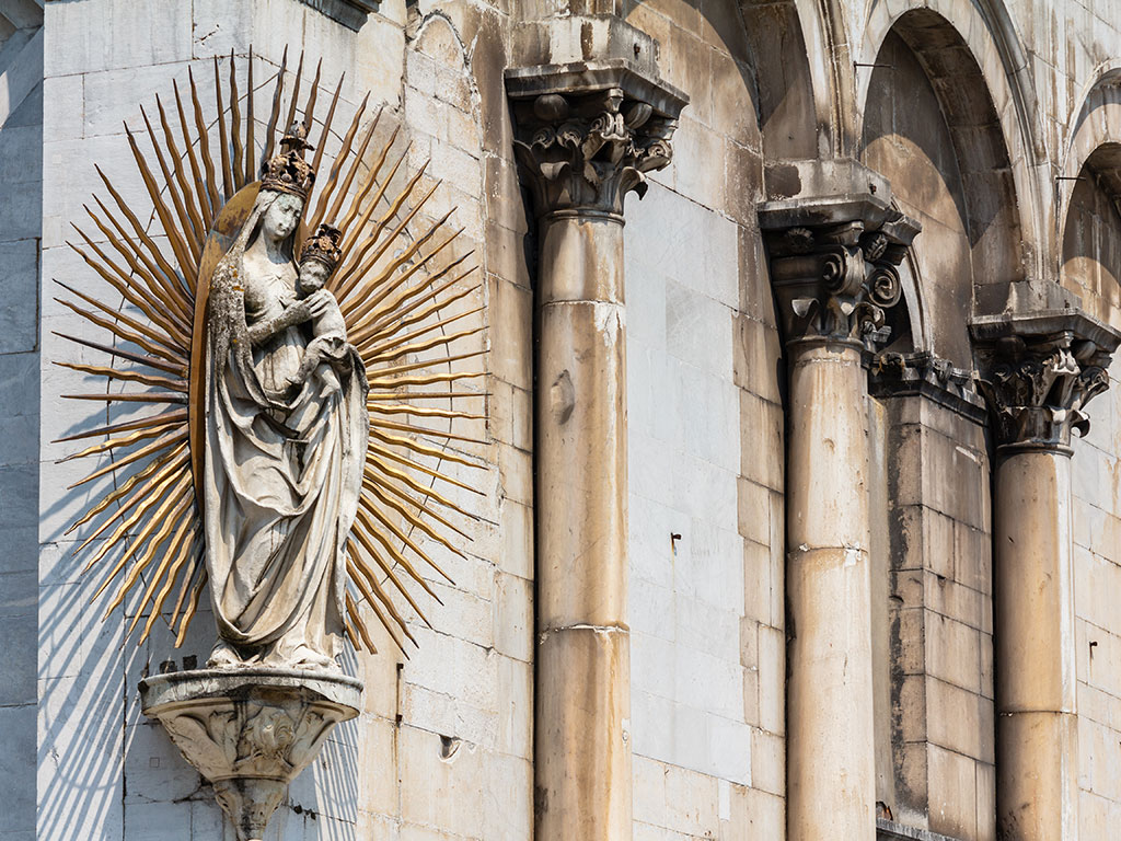 Madonna di San Michele in Foro. Lucca, 2015 ©Flivillegas