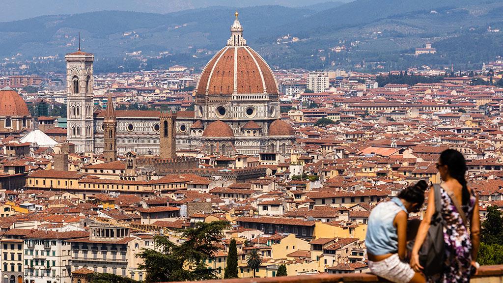 El mirador de Florencia. 2015 ©Flivillegas