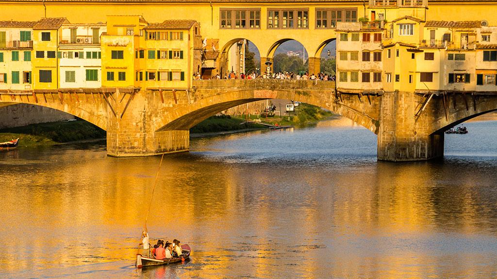 El puente de oro I. Florencia, 2015 ©Flivillegas