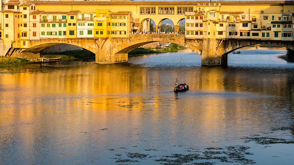 El puente de oro II. Florencia, 2015 ©Flivillegas