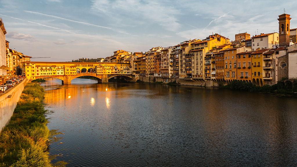Ponte Vecchio resplandeciente. Florencia, 2015 ©Flivillegas