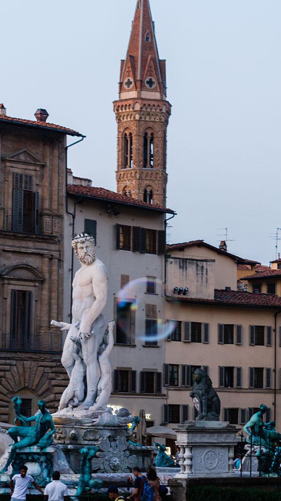 La pompa de Neptuno. Florencia, 2015 ©Flivillegas