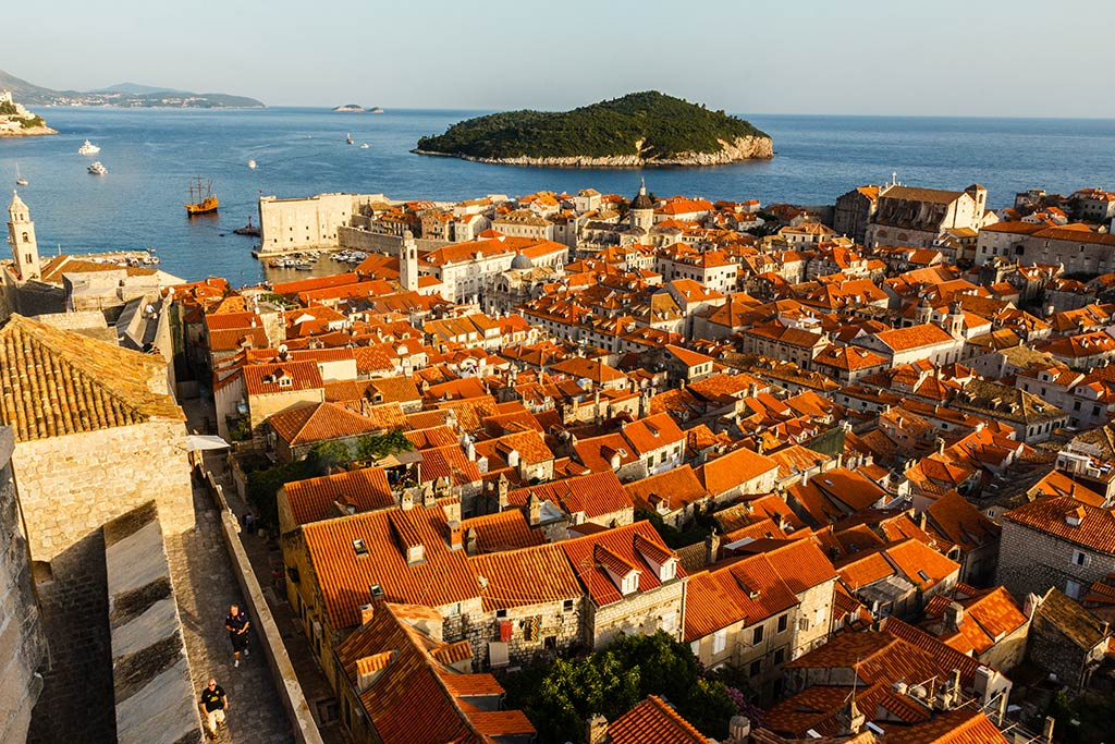 Mar de tejas. Dubrovnik, 2012 ©Flivillegas