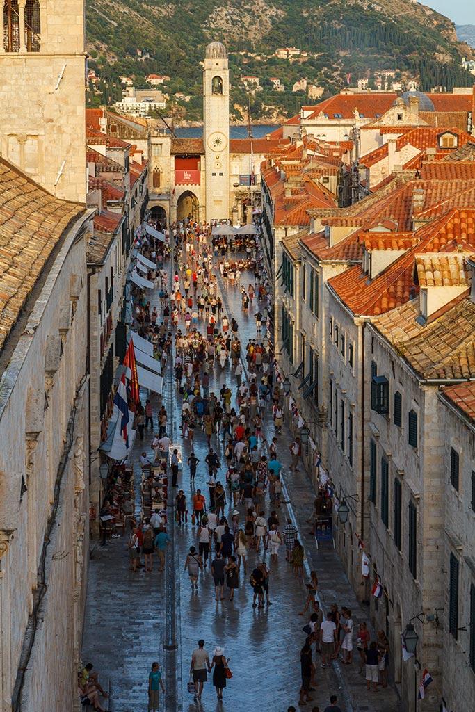 La arteria patrimonial de Dubrovnik. 2012 ©Flivillegas