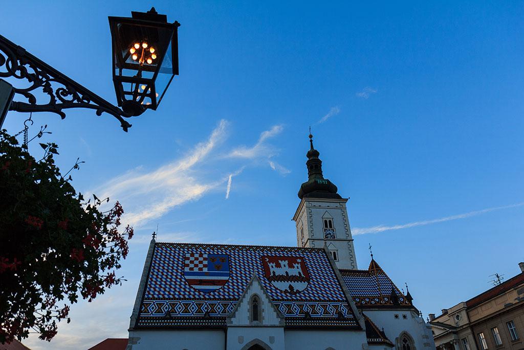 Atardecer en San Marcos. Zagreb, 2012 ©Flivillegas