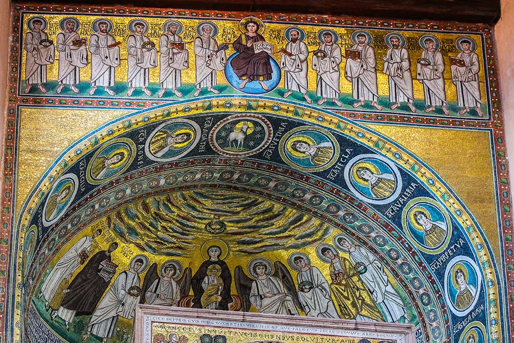 Interior de la Basílica de Porec. 2012 ©Flivillegas