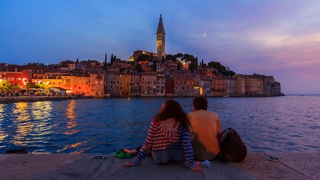 Cita romántica en Rovinj, 2012 ©Flivillegas