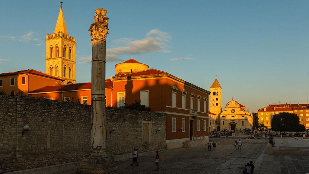 Atardecer dorado en Zadar. 2012 ©Flivillegas