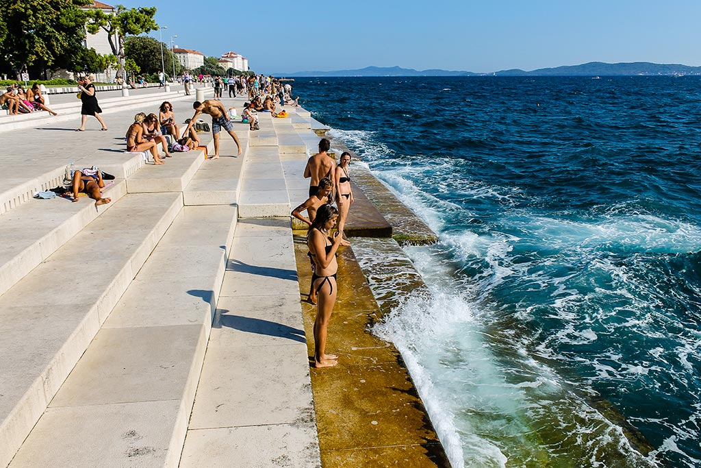 El Órgano del Mar. Zadar, 2012 ©Flivillegas
