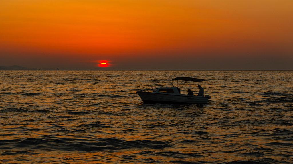 Ocaso del día. Zadar, 2012 ©Flivillegas