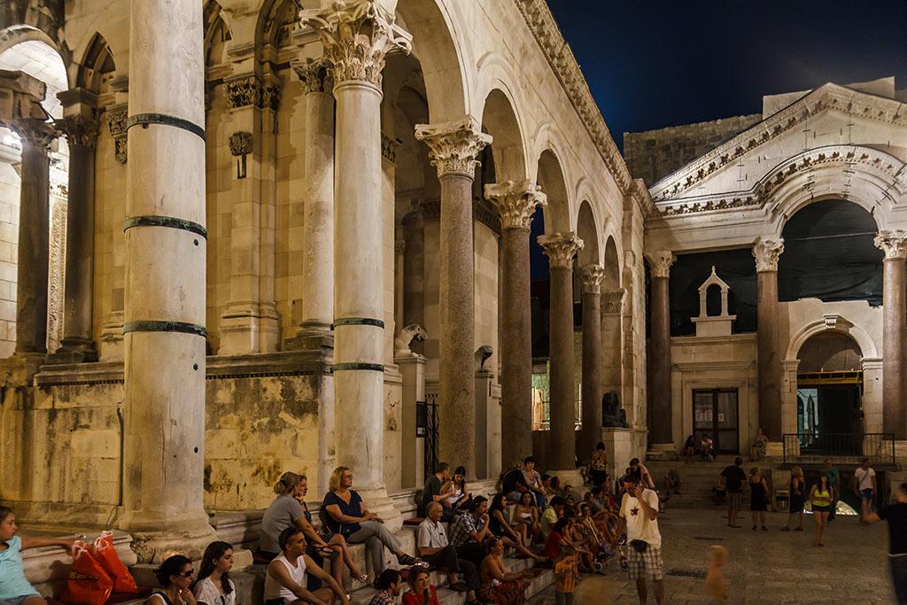 Palacio de Diocleciano. Split, 2012 ©Flivillegas
